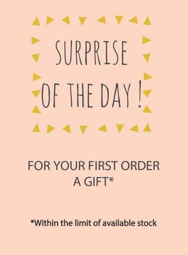 Bonheur du Jour surprise for your 1st order