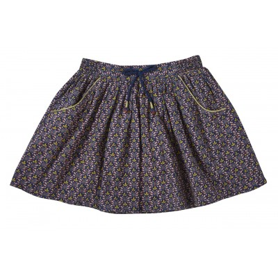 Printed skirt Izia navy