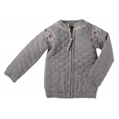 Embroidered jacket Ambre grey