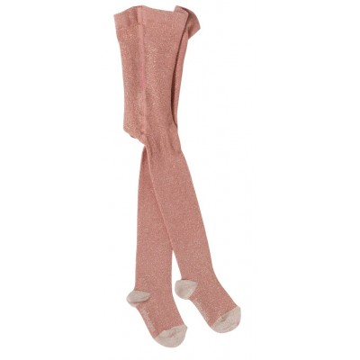Tights Lurex pink