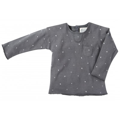 Printed tee-shirt Cosy grey