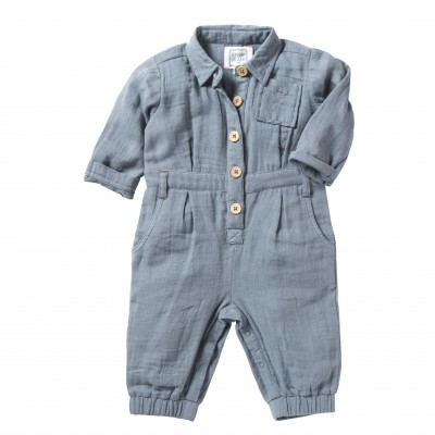 Overall Nils blue grey