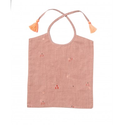Bib Clouds pink
