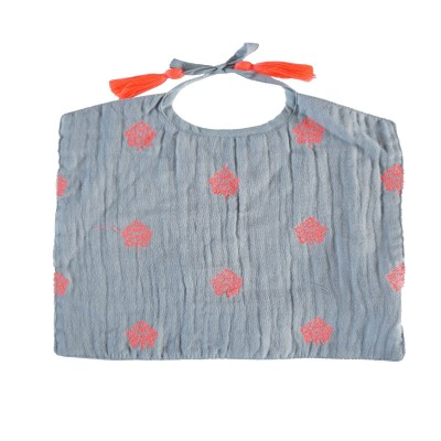 Bib Indian flowers pink