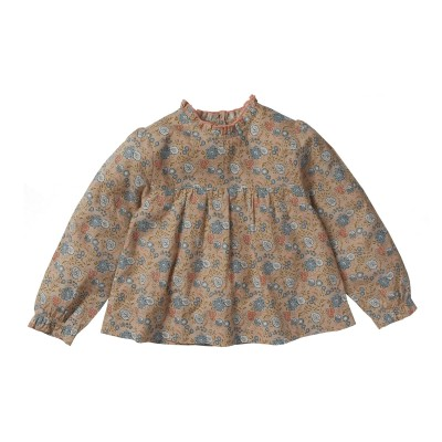 Flowers blouse Clara pink