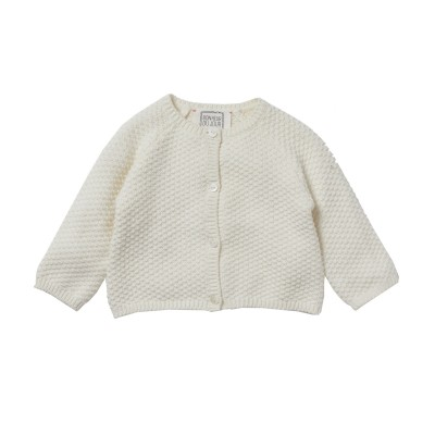 Honey comb cardigan Gretel ecru