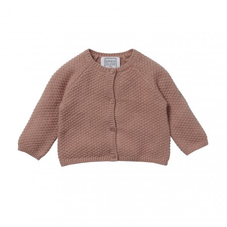 Honey comb cardigan Gretel rosebud