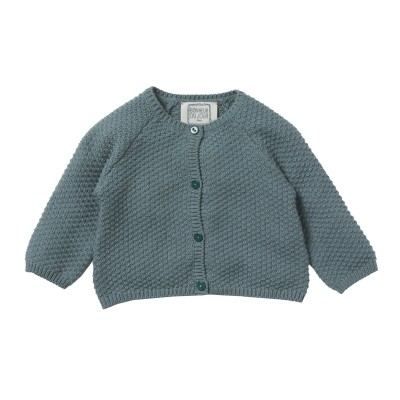 Honey comb cardigan Gretel green tea