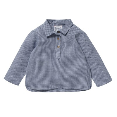 Kurta shirt Felix checks blue/white