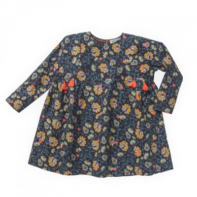 Printed blouse Jaya flowers