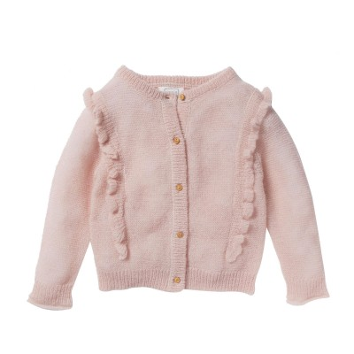 Cardigan Mahaut rose