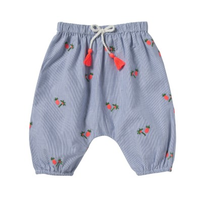 EMBROIDERED PANTS WILLY COCOPALM