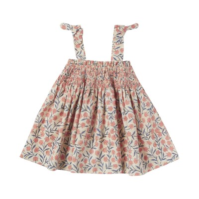 PRINTED DRESS NORA PINK