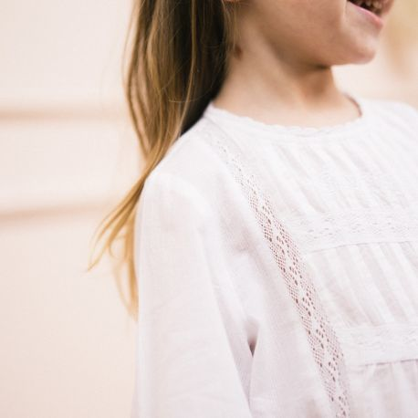 EMBROIDERED BLOUSE PAULINE