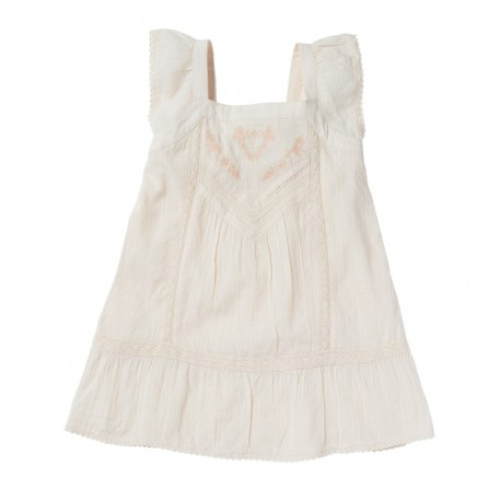 EMBROIDERED DRESS AMY