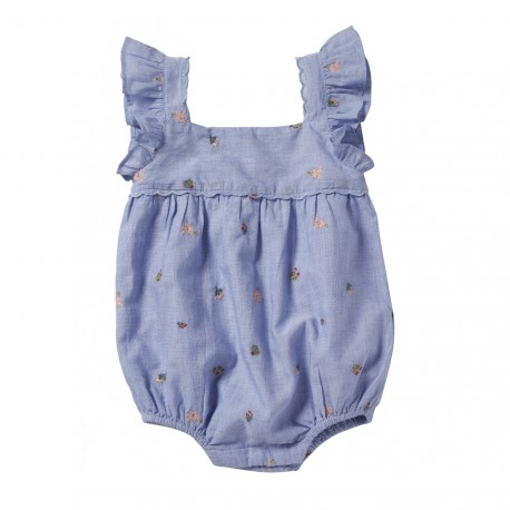 EMBROIDERED OVERALL LEONTINE