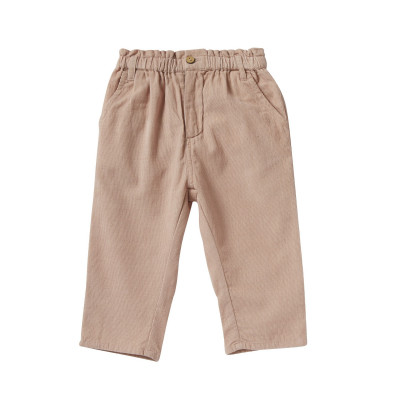Pants in fine corduroy elasticated Mary Rosee