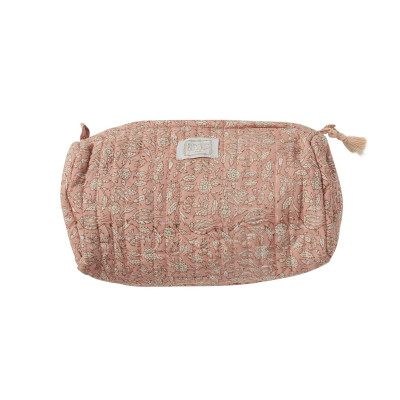 Toilet pouch INDIAN TERRACOTTA PINK